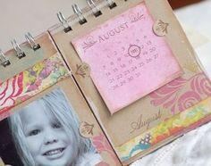 Flip Calendar by Betsy Veldman for Papertrey Ink (September 2010)