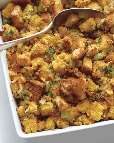 Bacon Cornbread Stuffing ... just a little different twist on the usual turkey stuffing...