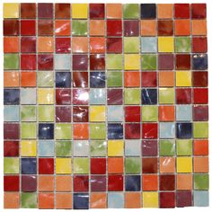 Uberlegen Musiva Mix 11 Mosaik Multicolour 28,6 X 28,6 Cm Mosaic, Kitchen