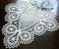 gorgeous crocheted lace doily
