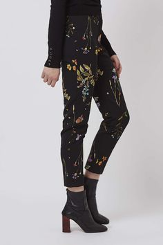 Photo 3 of Floral Cigarette Trousers