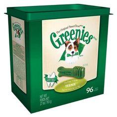 Greenies Dental Chews for Dogs  Teenie Pack  96 Chews: http://www.amazon.com/Greenies-Dental-Chews-Dogs-Teenie/dp/B001G96UK8/?tag=theaffilia046-20