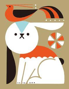 Animals 04 on behance Simple Illustration, Illustration Sketches, Graphic Design Illustration, Videos Kawaii, Playing Cards Art, Wild Photography, Animal Doodles, Geometric Drawing, Indian Folk Art