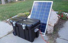 Heavy-duty Portable Solar Generator: 5000 Watt Solar Generator Kit by Be Prepared Solar with 200AH and 200W Solar Panels