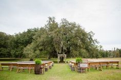 Country Florida Barn Wedding - Rustic Wedding Chic