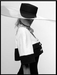 """journaldelamode: """" Stef van der Laan for Chanel Spring 2013 Lookbook by Karl Lagerfeld """""""