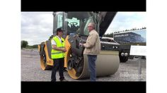 Available in North America in 2016, Volvo's new DD105 asphalt compactor features improved drum performance, new watering system, ECO mode and improved operator's station