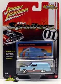 1:64  JOHNNY LIGHTNING STREET FREAKS 2017 RELEASE 1A - 1964 Ford Falcon Delivery #JohnnyLightning #Ford