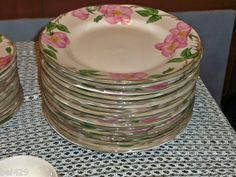 my collections - FRANCISCAN DESERT ROSE DINNERWARE china England