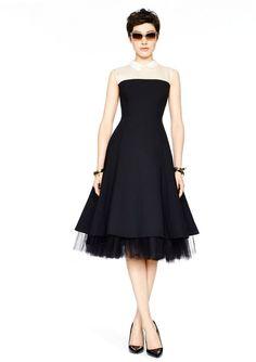 Kate Spade Madison ave. collection savu dress
