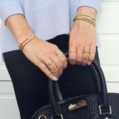 Jewelry layering. ❤️