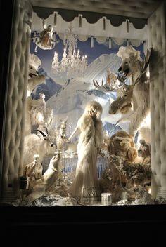 Bergdorf Goodman christmas window 2011 @NY