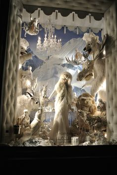 Bergdorf Goodman christmas window 2011 @NY