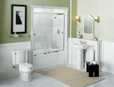 Small bathroom | http://workingdesigncollections.blogspot.com