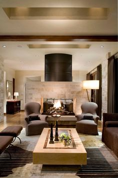 Quatro ideias de salas outono-inverno