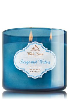 Bergamot Waters 3-Wick Candle - Home Fragrance 1037181 - Bath & Body Works