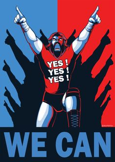 WWE: Yes We Can by Oniwanbashu on DeviantArt