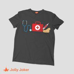 ¿Algún evento, día del enfermero, sorpresa o regalo? Entra y diseña tus camisetas de enfermería, añádele color, imágenes texto super fácil y rápido. Diseña ya jollyjoker.co