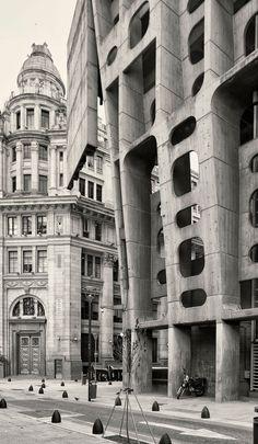 Federico Cairoli, Clorindo Testa, Cemal Emden · The Bank of London and South America · Buenos Aires
