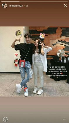 Hoseok and his sister BTS