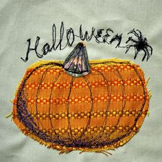 A freehand machine embroidery
