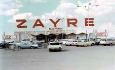 Zayre department store. Daddy used to take us here on Thanksgiving..it was open