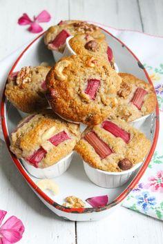 Rharber Nuss Muffins