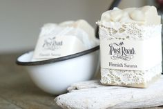 handmade finnish sauna soap | Post Road Vintage-Oh my goodness -this is the best soap on the planet oxox   Thanks Heather