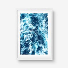 The Rough Seas of Tranquility Print Rough Seas, Designer, Etsy, Wall Art, Poster, Night, Artwork, Studio, Art Print