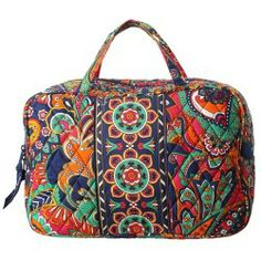 Cheap Vera Bradley Luggage - Grand Cosmetic (Venetian Paisley) - Bags and Luggage online - Zappos is proud to offer the Vera Bradley Luggage - Grand Cosmetic (Venetian Paisley) - Bags and Luggage: Stash your daily needs in this printed Vera Bradley cosmetic bag.