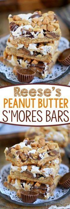 Reese's Peanut Butter S'mores Bars   eBay