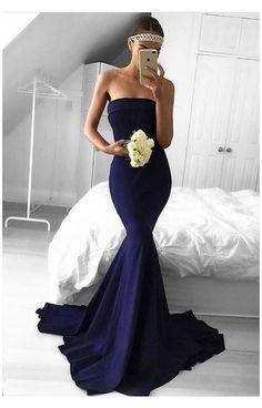 Bridesmaid Dresses Long Blue, Blue Bridesmaids, Bridesmaid Ideas, Ball Dresses, Sexy Dresses, Formal Dresses, Summer Dresses, Chiffon Dresses, Ladies Dresses