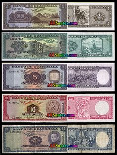 guatamala currency   Guatemala banknotes - Guatemala paper money catalog and Guatemalan ...