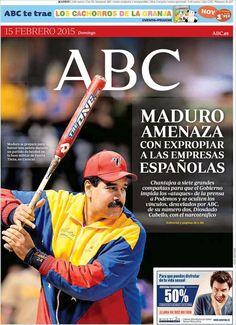 Diario ABC del 15 Febrero 2015 Recordar que puede visualizar las noticias en vídeo desde http://www.youtube.com/vendopor