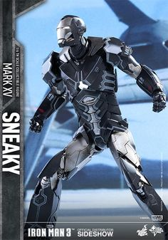 Iron Man Mark XV Sneaky Sixth Scale Figure by Hot Toys