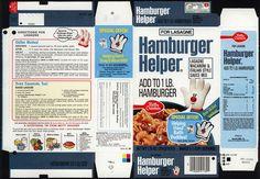 General Mills - Hamburger Helper - Lasagne - Helping Hand Bath Buddies - box file flat - 1980 by JasonLiebig, via Flickr