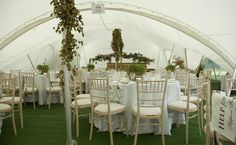 The Galaxy Capri Marquee available to hire from GP Marquees