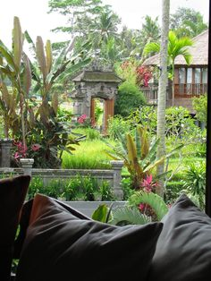 I could get used to this @ Ubud, Bali, Indonesia Balinese Garden, Voyage Bali, Bali Fashion, Destinations, Wanderlust, Lombok, Bali Travel, Ultimate Travel, Tropical Garden