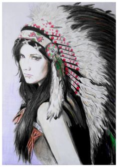 Image result for Female Indian Headdress