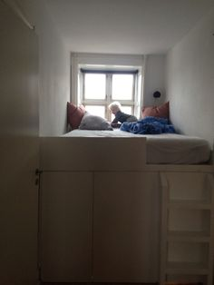 Sleep Well, Ikea Hacks, Raised Beds, Small Spaces, Storage, Room, Furniture, Design, Home Decor