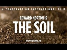 Nature Is Speaking – Edward Norton is The Soil | Conservation International (CI) - YouTube