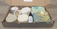 ZERO WASTE Stress Relief for Body and Hair Spa Gift Box Vegan Gift Anniversary Favors, Solid Shampoo, Cream For Dry Skin, Hair Spa, Vegan Gifts, Spa Gifts, Body Butter, Zero Waste, How To Relieve Stress