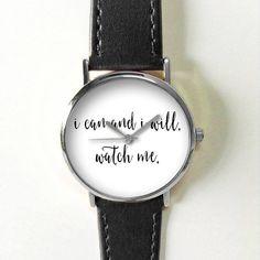 Ik kan en ik zal kijken Me Quotes Watch Type: Quartz De grootte van de pols: Instelbaar van 17 cm tot 21 cm (6.69 inch naar 8.26 inches) Display: analoog Bellen venster materiaal: glas Materiaal: metaal Kleur kast: goud Case Diameter: 3.8 cm (1,49 inch) De dikte van het geval: 0.7 cm (0,27 inch) Band materiaal: kwaliteit kunstleer Bandbreedte: 2,0 cm (0.748inches) De lengte van de band: 24 cm (9.44 inch) Band kleur: zwart, bruin, tan, wit, Kies kleur bij kassa  Betaling: Paypal Verzending…