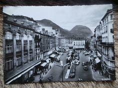"""Carte postale""""GRENOBLE"""" Années 1960 ANTIQUITE AU VIEUX PARCHET MEUBLE ANCIEN UGINE"""
