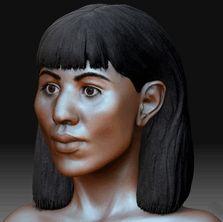 Meresamun a priestess-musician in the temple of Amun: