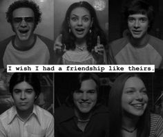 It's kind of difficult to live in Wisconsin and NOT have a friendship like theirs. Movies Showing, Movies And Tv Shows, Donna And Eric, That 70s Show Quotes, 70s Quotes, Movie Quotes, Thats 70 Show, Fez That 70s Show, Eric Forman