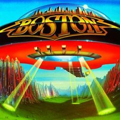 Bostons first album, depicting a MFO bringing to us Rock and Roll that was out of this world! Greatest Album Covers, Rock Album Covers, Classic Album Covers, Music Album Covers, Music Albums, Classic Rock Albums, Classic Rock Bands, Classic Rock And Roll, Lps