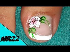Pedicure Designs, Toe Nail Designs, Manicure, Mani Pedi, Toe Nail Art, Toe Nails, Beauty Nails, Lily, Tattoos