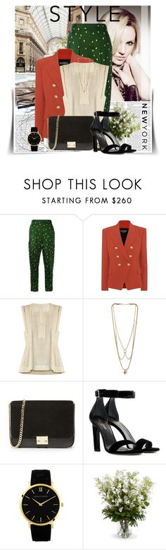 """That night was just like you"" by ninotchka-nb ❤ liked on Polyvore featuring Britney Spears, 3.1 Phillip Lim, Balmain, Étoile Isabel Marant, MANIAMANIA, Loeffler Randall, Yves Saint Laurent, Larsson & Jennings and New Growth Designs"