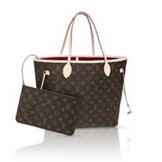 18db3f64191d5 Louis Vuitton Monogram Canvas Neverfull MM Cherry Vuitton celebrates the  Neverfull with a new version of this iconic bag. Look inside to discover a  host of ...